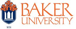 Logo of Baker University Moodle